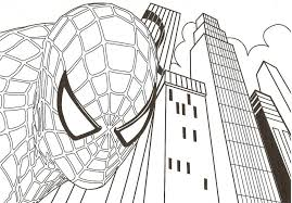 Print Spiderman Coloring Pages Pictures To Superhero Printable