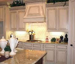 White Distressed Kitchen Cabinets Gorgeous Painting Antique Coolest Furniture