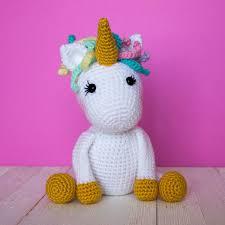 Free Crochet Unicorn Pattern Craft Ideas Crochet Unicorn