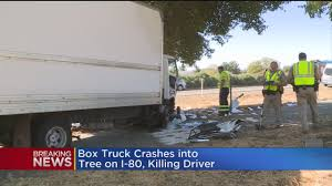 One Killed In Box Truck Crash On I-80 In Davis « CBS Sacramento