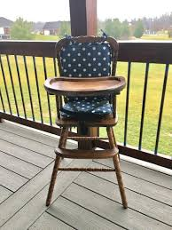 High Chair Cushion / Wooden High Chair Pad/highchair Cover / Highchair  Cushion / Highchair Pad / Vintage. Navy Polka Dot Chairs Eddie Bauer High Chair Cover Cart Cushion For Vintage Wooden Custom Ding Room Lovable Jenny Lind For Eddie Bauer Wooden High Chair Pad Replacement Cover Buffalo Laura Thoughts Recover Tripp Trapp Baby Set Tray Kid 2 Youth Ergonomic Adjustable With Striped Vinyl Pads 3 In 1 Wood Seat Highchairs Dinner Table Hauck Alpha Highchair Pad Deluxe Melange Charcoal Us 1589 41 Offchair Increasing Toddler Kids Infant Portable Dismountable Booster Washable Padsin Cute Lovely