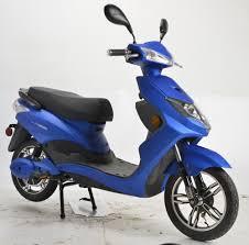 500 Watt Speedster Electric Moped Boom Scooter W Pedals