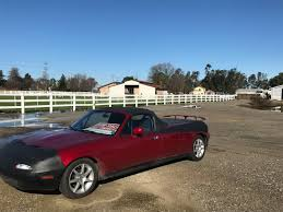 Stretched Mazda MX-5 Converted Pickup Truck Up For Sale