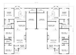 Small Duplex Floor Plans by Image Result For One Story 2 Bedroom Duplex Floor Plans With