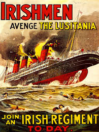 Where Did The Rms Lusitania Sink by Liverpool Picturebook