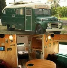 The Emerald Gypsy A 1949 Old School Bus Converted Into Tiny Home