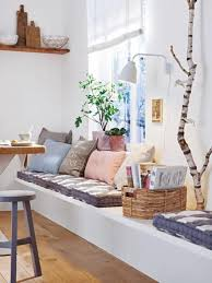 foto gemütliche sitzecke in der küche und