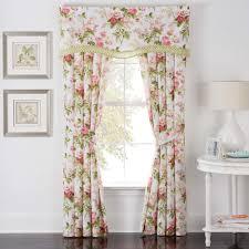Pink Ruffled Window Curtains by Decorating Waverly Valances Curtains Waverly Window Treatments