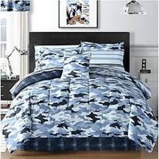 Camouflage Bedding Queen by Circo Camo Bedding Set Blue