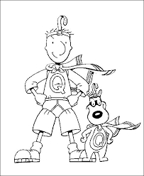 Doug Quail Man Coloring Pages