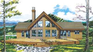 The Mountain View House Plans by Spectacular View 88190sh Architectural Designs House Plans