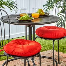 Amazon Prime Patio Chair Cushions by Amazon Com Greendale Home Fashions 15 Inch Round Indoor Outdoor