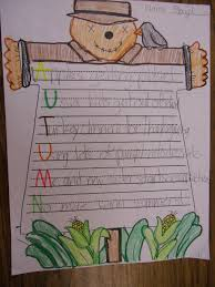 Halloween Acrostic Poem Worksheet by Patties Classroom Fall Acrostic Poetry And Scarecrows