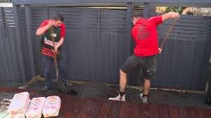 Shed Anchor Kit Bunnings by How To Install An Outdoor Screen Panel Diy At Bunnings Youtube