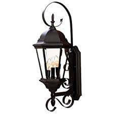 Acclaim 7212BK Surrey Collection 3 Light Wall Mount Outdoor Light