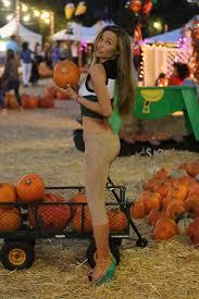 Pumpkin Patch Jefferson Blvd Culver City by Natalie Gal At Mr Bones Pumpkin Patch In West Hollywood