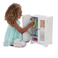 KidKraft Doll Furniture Wooden Lil' Doll Armoire: KidKraft: Amazon ... Kidkraft Darling Doll Wooden Fniture Set Pink Walmartcom Amazoncom Springfield Armoire Journey Girls Toysrus 18 Inch Clothes Drses Our Generation Dolls Wardrobe Toys For Kashioricom Sofa Armoire Kidkraft Next Little Kidkraft 18inch New Littile Top Youtube Chair And Shop Baby Here