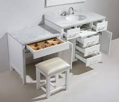 Bathroom Vanities With Matching Makeup Area by 72 Inch And Over Vanities Double Sink Vanities Bathroom Vanity