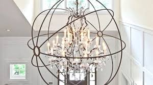 Kitchen Ceiling Fans With Lights Canada by Extra Large Orb Chandelier With Great Lighting Ceiling Fans