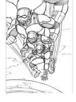 Ant Man Coloring Pages 4