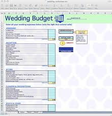 Wedding Budget Checklist Excel