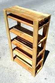 How To Build A Shoe Rack Wood Pallet Plans Ideas Surprising