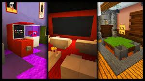 Minecraft Xbox 360 Living Room Designs by Minecraft Games Room Designs U0026 Ideas Youtube
