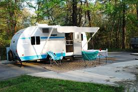 Our Riverside RV Retro 177 White Water Set Up And Ready For Living On