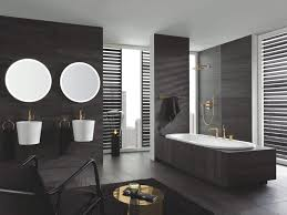 badtrend grau warum dunkle farben für das badezimmer