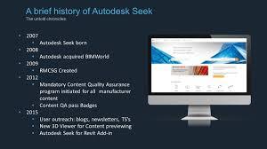 Autodesk Seek Revit Families by Revit Structure Learning Curve