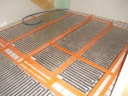 chauffage sol electrique sous carrelage 15 pose 20des 20trames