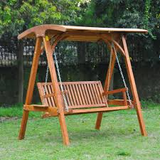 Bench Outdoor Swing Bed With Stand Wooden Porch Swing Plans