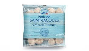 cuisiner les noix de st jacques surgel馥s noix de jacques surgelés les poissons crustacés