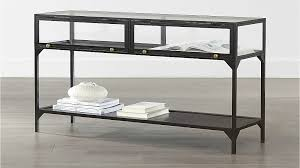 Crate And Barrel Slim Desk Lamp by Ventana Console Table Crate And Barrel