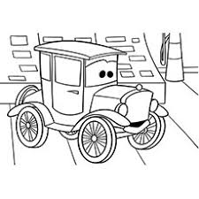 The A Cars Coloring Pages Ch