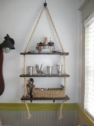 Rope Hanging Shelf Via Atthewalkerhouse