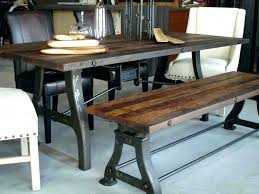 Dining Tables Industrial Style Table Wood Kitchen Room Breathtaking Woo