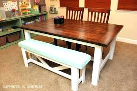 Kitchen Table Plans Farmhouse Ideas For Your Dining Room Free Wooden