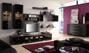 Wall Color Ideas For Living Room With Black Furniture