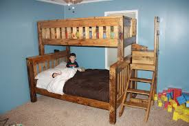 built in bunk bed plans twin over full home decor ideas