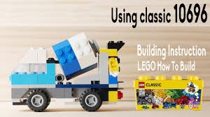100 Lego Cement Truck Building A Simple LEGO Mixer Truck Using Classic 10696