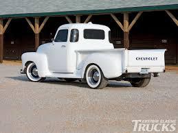 100 1952 Chevy Panel Truck Chevrolet 3100 Pickup Hotrod Hot Rod Custom Old School White