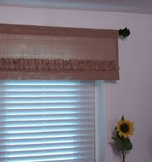 Image Of Rustic Valances For Window Treatments