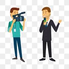 News Reporter Tv Microphone Journalism PNG And Vector
