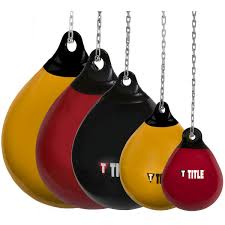 Heavy Bag Ceiling Mount Track by Title Wave H20 Rotund Heavy Bags Title Boxing
