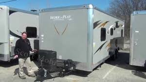 NEW 2015 Forest River Work And Play 24UC | Mount Comfort RV - YouTube