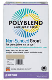 Polyblend Ceramic Tile Caulk Sanded by Polyblend Non Sanded Non Shrink Grout Custom Building Products