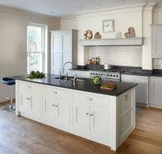 Sonoma Tilemakers Bossy Gray by Esher Grey Shaker Kitchen Transitional Kitchen London By
