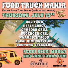 100 Dogtown Food Truck Roseville Parks On Twitter Chow Down In DowntownRoseville