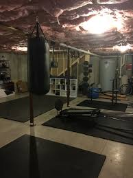 Boxing Heavy Bag Ceiling Mount by Heavy Bag Cubbies Weights Mounted With Pipe Exercise Ball Gym